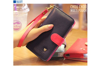 HOT ! Korean Style Slim Smart Wallet Leather Case For Jiayu G2/G2S/G3/G4 Free Shipping