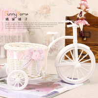 Free Shipping Quality rattan bandwagon vase artificial flower vase decoration flower home decoration big floats