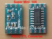 10X mini RS232 TTL Converter level translator Pegelwandler Adapter Module Board Serial transfer MAX3232CSE