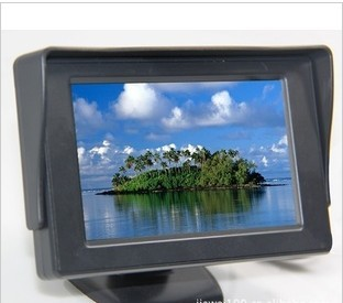 4.3 inch car monitor parking system with menu functions CAR MONITTOR