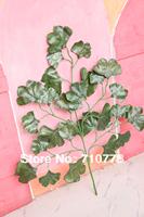 100PCS wholesale green wedding wishing tree ginkgo leaves wedding party festival decoration ginkgo leaf