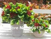"20Pcs 23cm/9.06"" Length Artificial Simulation Mini Christmas Fruit Garden Wedding Home Party Story Decorations"