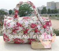 Free Shipping Fashion  New Colorful Flowers Printed Casual  Women Lady Girls Handbag Tote Bag Beach Bag