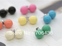 Special Hot Korean small jewelry wholesale super cute candy earrings 100 pcs/lots
