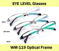 Wholesale/retail  New Titanium optical frame Men's eyewear frame good quality  optical eyeglasses WM-119  frame