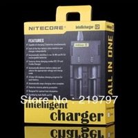 20PCs  Nitecore I2 Charger for 16340 10440 AA AAA 14500 18650 26650 Battery Charger for standard battery + Discount