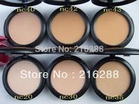 6 pcs/lot Free Shipping New Studio Fix Powder Plus Foundation Face Powder 15g!