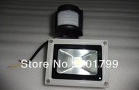 10W PIR Motion Sensor LED Flood light;AC85V-265V input