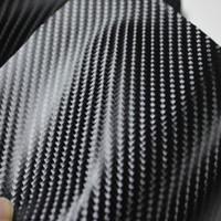 New arrival glossy carbon paper 4d carbon paper carbon fiber car body