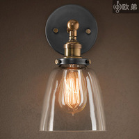 Wall lamp vintage copper wall lamp wall lamps living room lights bed-lighting wall lamp 2012