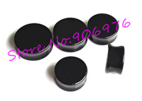 Black Acrylic Ear PLug Flesh Tunnel Ear Piercing Expander Tpaer Big Size 22 -30mm Popular Large Fashion Body Jewelry Earring