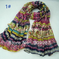 ladies 100% viscose Bohemian printe geometry cashew muslim long scarf/scarves.180*100cm.15pcs/lot.
