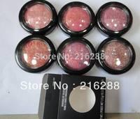 Free shipping New Makeup Mineralize Blush 3.5g(6pcs/lot)