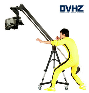 Dvhz-5506 video rocker manual small arm tripod truckings