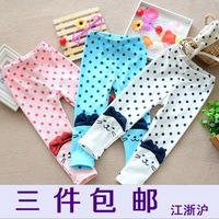 Child legging female thin female child legging skinny pants baby trousers children's clothing