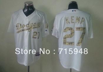 2013  New Baseball Jerseys Dodgers Authentic Matt Kemp 2013 USMC Home Cool Base Jersey Size 48-56 Stitched Mix Order