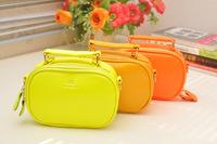 2014 Hot sales summer new Lovely mini handbag Women's cat Messenger bag  phone bag wholesale Russia Brazil  Free shipping   B005