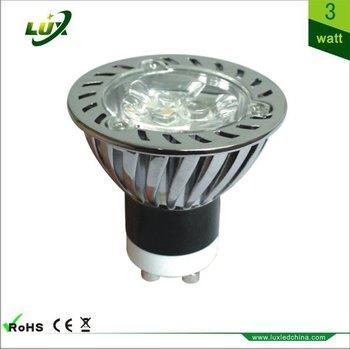 20PCS GU10 LED spot light 4W led bulb lighting AC100-240V 300LM Factory wholesale Free Shipping