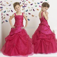 Best-selling Stylish Floor-length Designer Kids Clothes and Dresses Girls Pageant Dresses