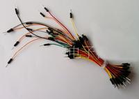 free shipping Hot Sell 65pcs U Shape Solderless Breadboard Jumper Wire Kit For Arduino Shield For raspberry pi