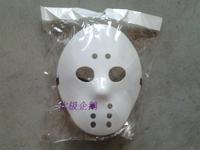 by 2 pc hot sale free shipping Mask jason  ice hockey   mask almiscar Dia das Bruxas dom crative  creative gift adult festa