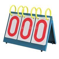 Multi-Purpose Sports Three Digit Flip Scoreboard for Knowledge Contest #gib