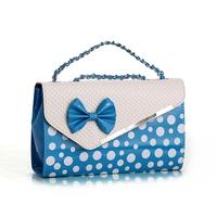 2013 women's handbag small bag one shoulder cross-body small bags chain bow women's bag