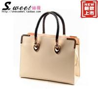 2013 women's fashion handbag new arrival shoulder bag dinner brief women's bags laptop messenger bag