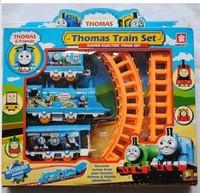 Thomas electric rail train set toy