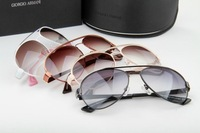 Fashion Elegant Woman Big Frame Sunglass ,Ar,Free for  beautiful big brand glass case