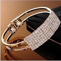 Min. order $9 Fashion royal mantianxing full rhinestone Women bracelet