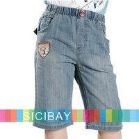 Boys Summer Fashion Shorts Kids Half Jeans Casual Pants,5pcs/lot,Free Shipping  K0829