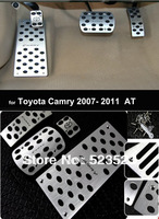 Free Ship for  Toyota Camry  2007 08 09 10 11  AT non-slip Fuel Brake Foot Rest Pedals - Automatic Transmission 4pcs