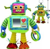 New Lamaze Rusty the Robot Lovely Baby Developmental Toy L00919