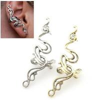 #100 2014 Hot Sale Design Fashion Punk Women Rhinestone Ear Cuff Earrings Free Shipping 24pcs/lot