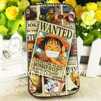 Cute Cartoon One piece Lu Fei TPU Hard Silicone Back Cover Case For Samsung Galaxy Grand Duos i9082 Free Shipping