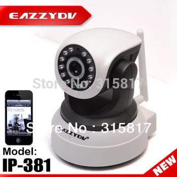 Wireless WIFI IP Camera IP-381 720P P2P H.264 IP 3G Network Camera Pan/Tilt Network CCTV Camera PC Mobile Phone Remote Control