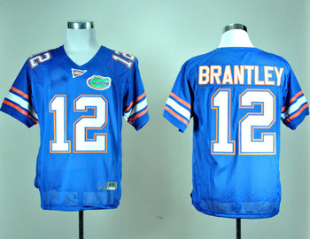 wholesale Florida Gators 12 John Brantley College Football Jersey mix order,Free Shipping