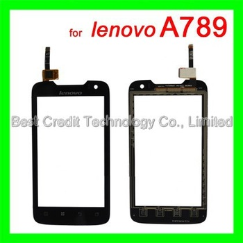 in stock 100% original touch screen for Lenovo A789 touch pannel digitizer glass for  free shipping