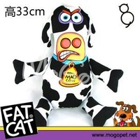 Fatcat canvas vocalization wellsore toy pig cow sheep chicken toy