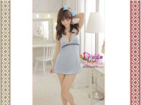 YY-8828, Sexy Lingerie, Sexy Underwear Sexy Babydoll Light blue Sexy Negligees & Chemises Without thong FREE SHIPPING