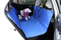 Waterproof Pet Dog Cat Back Seat Protector Cover Hammock for Pet Dog BLUE