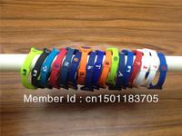 100pcs/lot Free Shipping Fashion MLB Energy Power Silicone Wristband Bracelets with Hologram Wristband Band without retail box
