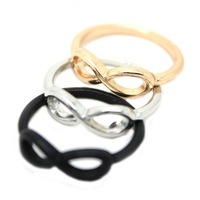 Min.order is $15 (mix order) New!! 17mm size  Fashion eight Ring Jewelry J1463