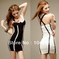 Free Shipping 2013 New Fashion Ladies Summer Sheath Mini Sleeveless Womens Backless Straps Clubwear Sexy Dresses FH-37646