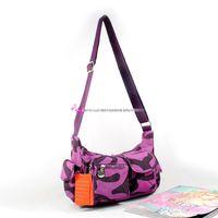 Fashion women's handbag casual nylon cloth shoulder messenger bag multi-pocket
