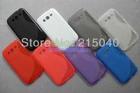 Free Shipping! Galaxy Grand Anti-skid S Line Soft TPU Gel Back Cover Case for Samsung Galaxy Grand i9080 i9082, SAM-037