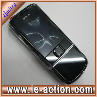 Original 8800 sapphire arte black housing and cover without leather for Nokia 8800 mobile phone(Hong Kong)
