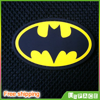Superhero Batman for justice DIY Military PVC Badge Velcro patches Rubber Velcro for Clothes Jackets Backpacks Hats PVC chapter