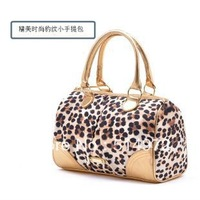 Best Selling!!2013 new stylish ladies leopard handbag Elegant small bags women shoulder bag Free Shipping